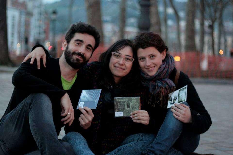 Equipo de ANTespacio. Damian Rodríguez, Melodie Martín y Laura Díez.