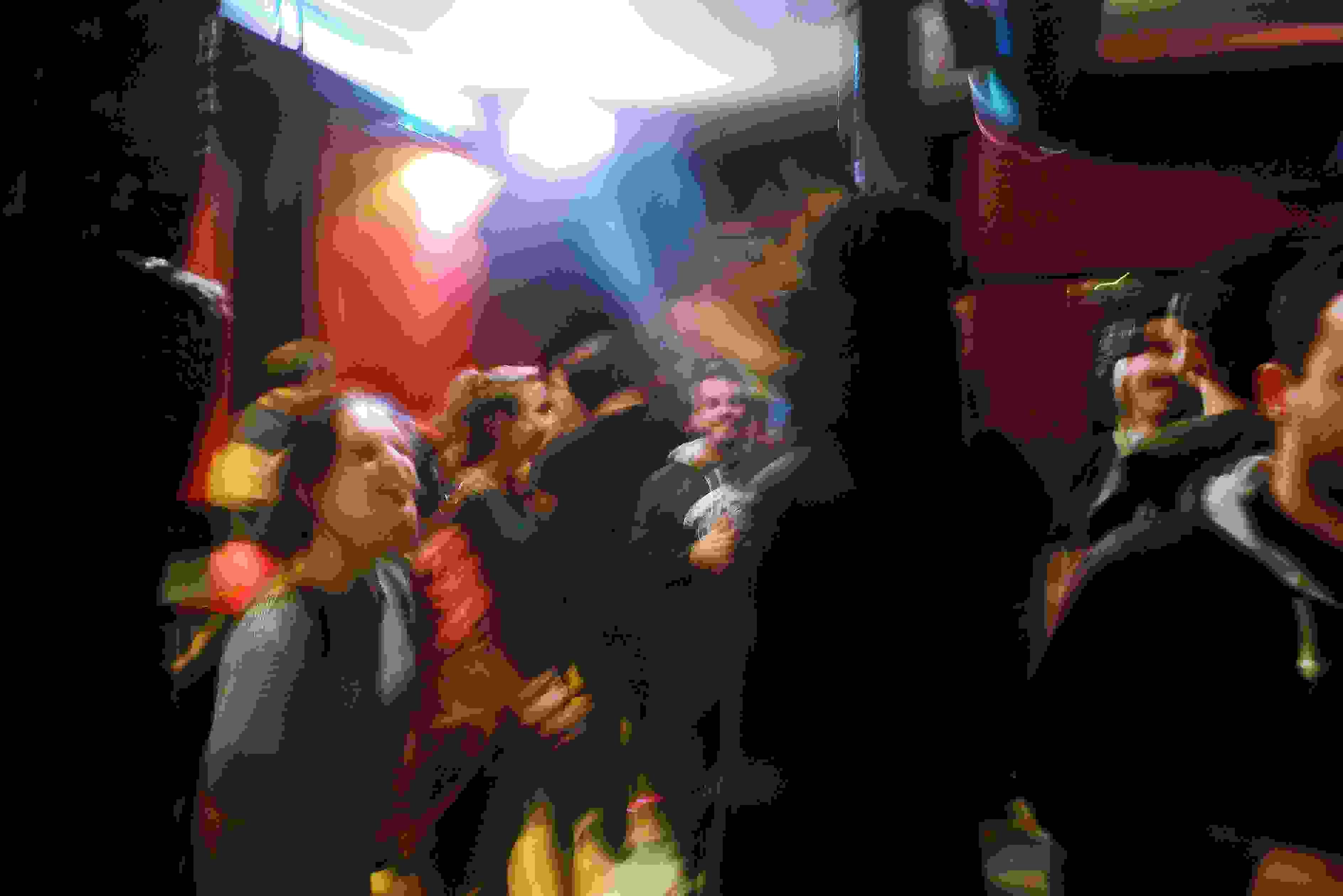 Alexander Ríos en el Bar Las Ruedas de Iturribide