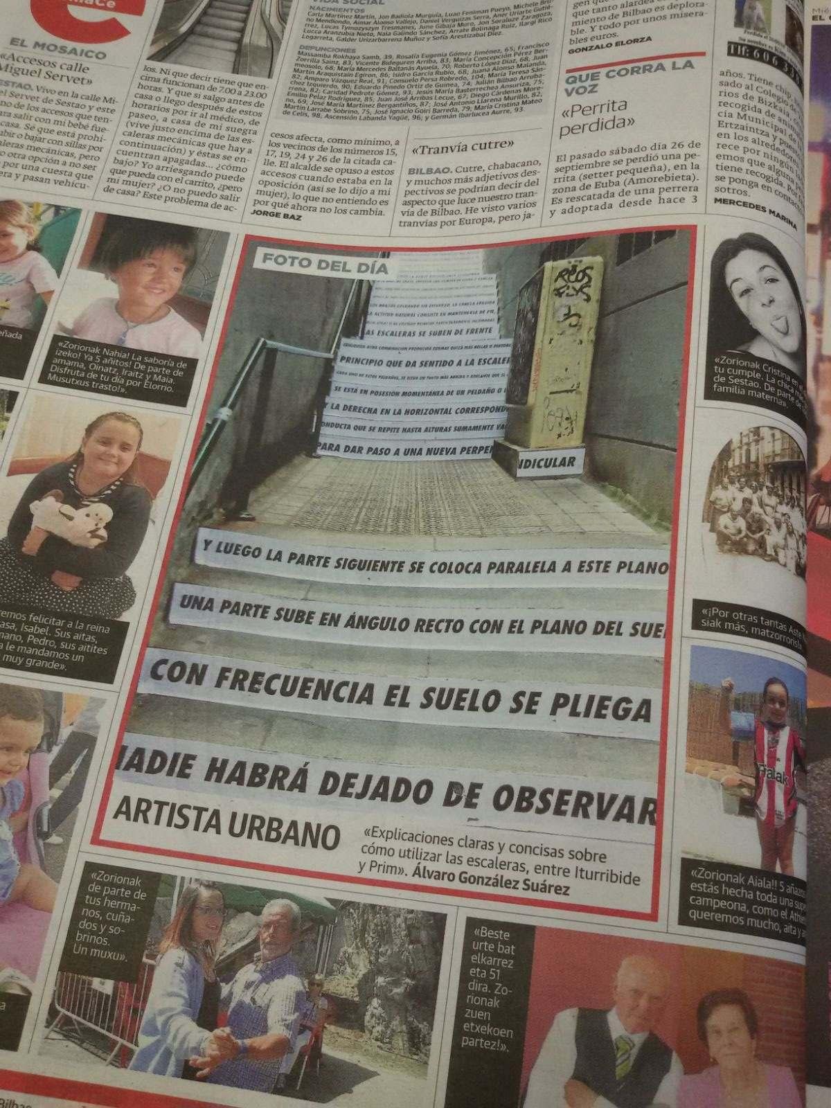 Foto del día El Correo