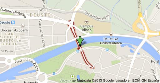 Viernes 15 a las 17:30 en el Puente de Deusto // SPECIMEN